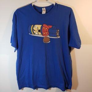Gildan Men's Christmas Nutcracker Shirt Sz 2XL